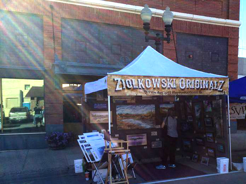 Ziolkowski Originals at Lewistown, Montana's Chokecherry Festival.